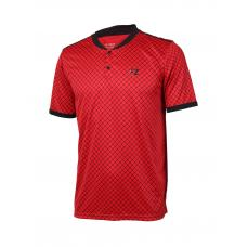 Bronx polo marškinėliai Chinise red